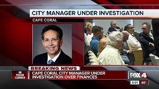City Manager and Finance Department under investigation Cape Coral