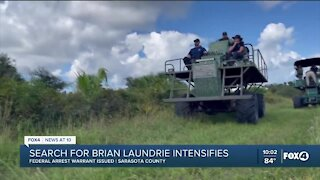 Search for Brian Laundrie now a criminal investigation after Federal warrant issued