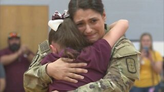 Military homecoming surprises