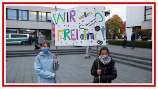 Kinder stehen auf! Demo in Baienfurt gegen die Maskenpflicht - ReUpload ÜberlingenFM