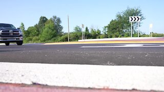 Construction on the new roundabout on M-43 in Grand Ledge is complete
