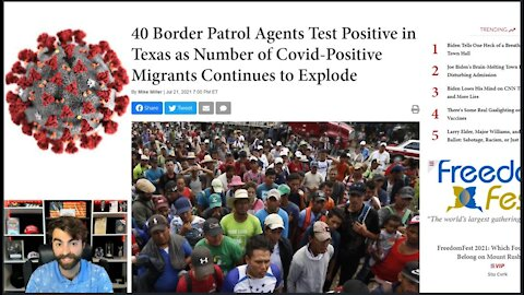 Shame On DEMS | Illegal Immigrants Flood US Border & Agents With COVID-19