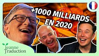 Les milliardaires s'enrichissent et les petits ferment...