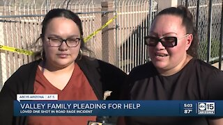 Family asking for helping following road rage shooting, crash