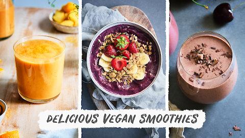 One Week of Healthy Vegan Weight Loss Smoothies