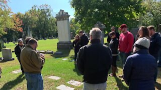 A walk through Detroit history: Group offering cemetery tours of well-known gravesites