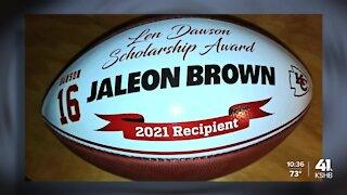Sumner Academy graduate Jaleon Brown awarded 2021 Len Dawson Scholarship