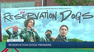 """""""Reservation Dogs"""" holds premiere at Circle Cinema in Tulsa"""
