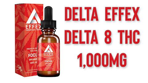 Delta EFFEX Delta 8 THC 1,000mg Review