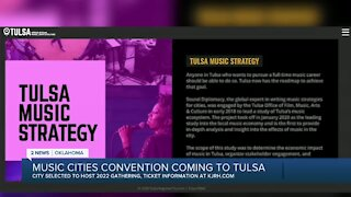 Music Cities Convention Coming to Tulsa