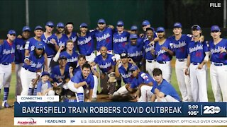 Players released after baseball team's COVID outbreak