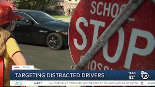 Public warned of distracted driving dangers as kids go back to school