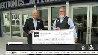 NFM donates thousands of dollars and pounds of food to Food Bank for the Heartland