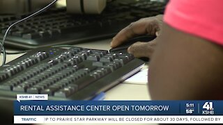 Rental assistance center open tomorrow
