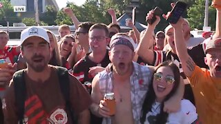 Browns fans head to Muni Lot ahead of home opener
