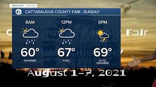 7 First Alert Forecast 5p.m. Update, Saturday August,31
