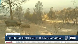 Potential flooding in burn scar areas this winter
