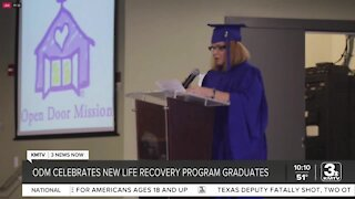 Open Door Mission celebrates new life recovery program graduates