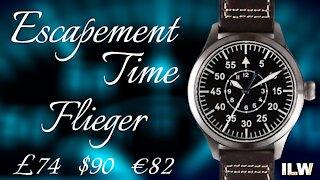 Escapement Time Pilot Watch Review