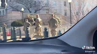 7,000 U.S. Military Troops Deployed in US Capitol