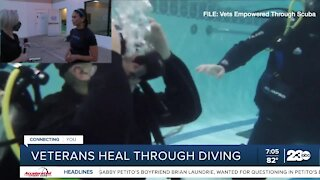 Veterans heal through diving