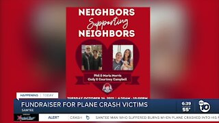 Fundraiser being held Tuesday for plane crash victims