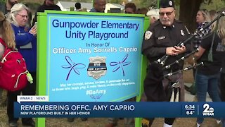 Perry Hall playground named after fallen officer