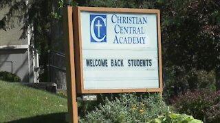 Williamsville private school suing over mask mandate