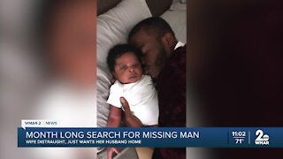 Baltimore County man missing for nearly a month, wife suspects foul play