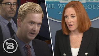 Reporters Catch Psaki Red-Handed Hosting COVID-19 Super-Spreader Event