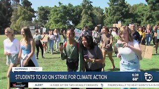San Diego students go on strike for climate action