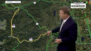 Last 2013 flood repair project: Colorado Highway 7