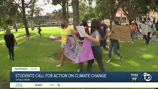 San Deigo students hold climate strike walkouts, demonstrations