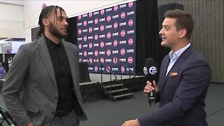 Pistons draft pick Isaiah Livers talks one-on-one with Brad Galli