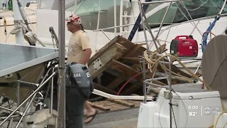 Cleanup begins in Pensacola amid Hurricane Sally