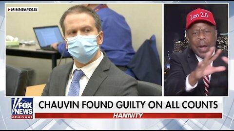 Leo Terrell slams Biden, Democrats invoking race in Chauvin verdict