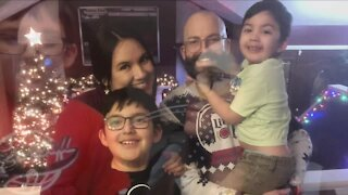 Fully vaccinated couple reunites with their great grandchildren