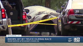 Bicyclists hit by truck during race in Show Low