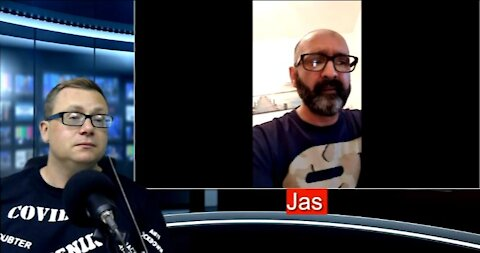 UNN's David Clews talks to freedom fighter Jas