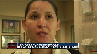 Ridgecrest families brace for aftershocks