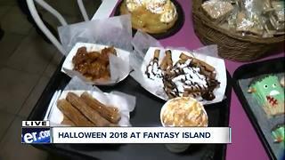 Fantasy Island transformed for Halloween
