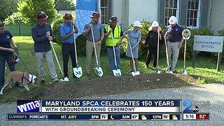Maryland SPCA celebrates 150 with groundbreaking ceremony