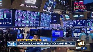 Coronavirus, oil prices spark stock market selloff