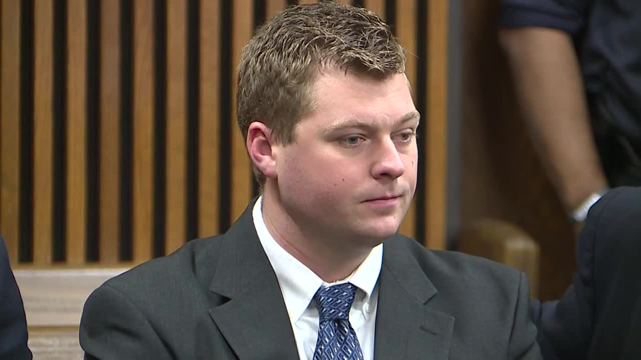 Cleveland officer accused of rape appears in court