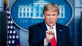 Trump Calls Coronavirus Test 'An Operation'