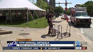 MICA hosts 11th Annual Art Walk