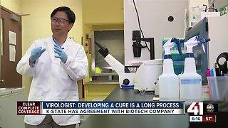 Kansas State University researchers license technology for coronavirus drug