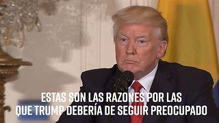 Tres cosas de las que debería preocuparse Trump