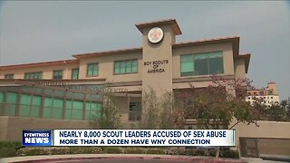 Nearly 8,000 scout leaders accused of sex abuse