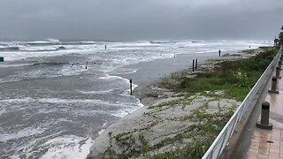 Daytona Beach storm surge, erosion